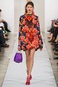 Oscar de la Renta Moody Blooms florals autumn/winter 2013 trend (Vogue.com UK)