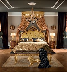 Ultra Luxurious Bedroom Interior, Inspiration for Dream Bedroom