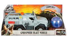 Mattel Jurassic World Gyrosphere Blast Vehicle Toy Jurassic Park Jeep, Lego Jurassic, Jurassic Park World, Baby Girl Toys, Toys For Girls, Paw Patrol Bedroom, Jurassic World Dinosaur Toys, Lego Dino, Strongest Pokemon