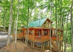 Plenty to do at this great cabin- game room, theater, hot... | Tripping.com