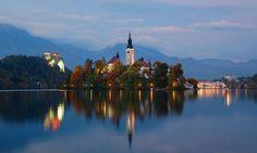 Lago Bled. Eslovenia