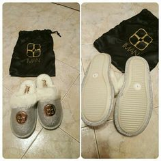 New Iman slippers Brand new with tags and bag Shoes Slippers