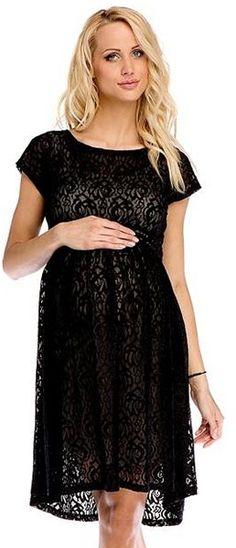 sukienka ciążowa scarlett p260 # m czarny