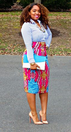 44e6648bf3 Be motivated with Ankara outfits that make you that African plus-size  fashionist. These