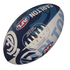 Carlton Blues AFL Footy Ball by Burley