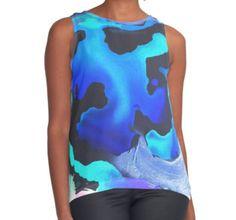 Contrast Tank | Fashion | Design | Art | @anoellejay @redbubble $35