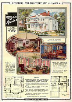 Sears Alhambra catalog image 1924 interior