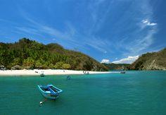 Isla Tortuga, Costa Rica....white sandy beaches & turquoise waters :)