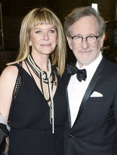 BAFTA Awards 2016: Steven Spielberg and Kate Capshaw walk the red carpet.