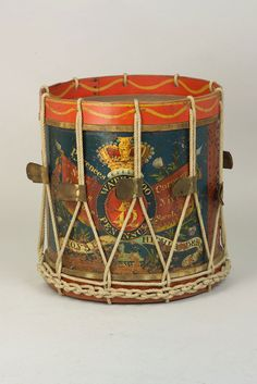 Side drum used by the 42nd (Royal Highland) Regiment of Foot, 1815 National Army Museum
