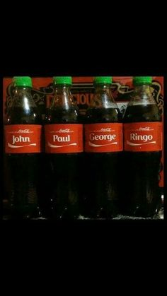 OH yes, I would love to share some Coke-a-Cola with those four.