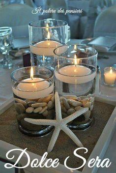 Dolce serata buona serata candele stella marina