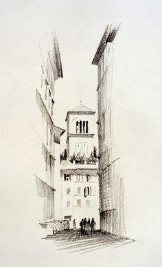 In Rome Again ... | Urban Sketchers