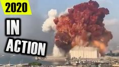 EXPLOSION IN BEIRUT IN SLOW MOTION Beirut, Tech, Technology