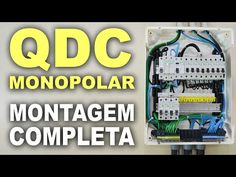 Como montar um QDC monopolar passo a passo! - YouTube