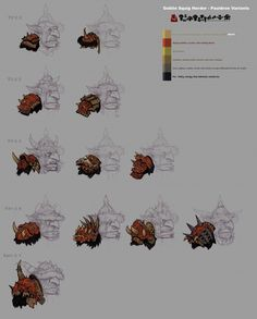 Greenskins: Warhammer Goblin Pauldron Variants (by ItchyNick)
