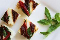Sushi vegetariano con tomates secos