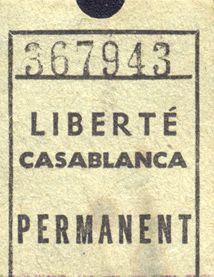 LES CINEMAS DE CASABLANCA.........