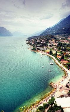 Lake Garda, Italy. The world is here for us to see. We must make it a priority to travel; life is too short.