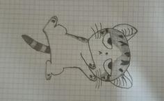 Lazy Cat, Character Drawing, Cats, Drawings, Gatos, Sketches, Cat, Drawing, Kitty