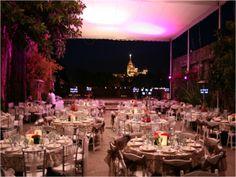 Una bella y elegante opción para celebrar la recepción de boda.