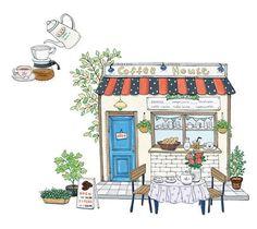 Risultati immagini per coffee illustrations