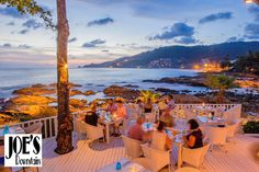 Joe's Downstairs, just outside of Patong, serves up some of the best food and views of any restaurant in Phuket, Thailand