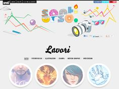 Very, very pretty design and feminine... LOVE the pencil scribble effect.  50 Awesome Websites with Extraordinary Geometry Elements