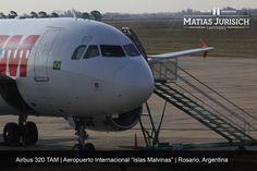 "Airbus 320 TAM | Aeropuerto Internacional ""Islas Malvinas"" | Rosario, Argentina"