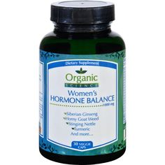 Organic Science Womens Hormone Balance 30 Vegetarian Capsules