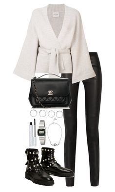 """Untitled #5182"" by theeuropeancloset on Polyvore featuring Proenza Schouler, Le Kasha, Chanel, Parlor, Boohoo, Michael Kors, Casio and 100% Pure"