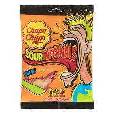 Новые Chupa Chups Sour Infernals. Новый супер кислый опыт. Вы достаточно готовы и сильны, чтобы испытать эту кислотность???Вкусная... The Chew