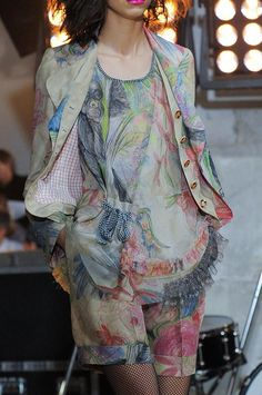 +++ Wunderkind + Spring / Summer 2014 + PFW + RTW +++ #sporty #fringes #OldWest #Western #reptile #print #motif #leopard #flowers #florals #colorful #frock #biker #leather #varsity #sportswear #sheer #chiffon #tulle #net #mesh #pleated #embroidery #flags #Wunderkind #ParisFashionWeek #SS14 #WomensFashion #PFW