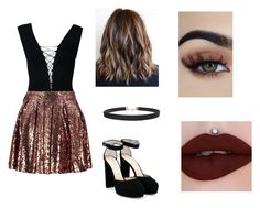 """""""Untitled #103"""" by hillary200 ❤ liked on Polyvore featuring T By Alexander Wang, Boohoo, Jimmy Choo and Humble Chic"""