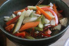 Giardiniera at Relish Mama Caprese Salad, Preserves, Pickles, Food, Meal, Essen, Preserving Food, Pickling, Insalata Caprese