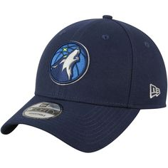 7f6a9aff9ba1 Minnesota Timberwolves New Era Official Team Color The League 9FORTY  Adjustable Hat - Navy