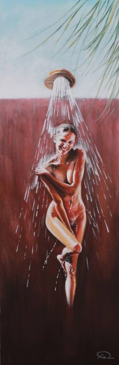 "Saatchi Art Artist Antoine Renault; Painting, """"Eau Douce"" - Private collection, Finland"" #art"