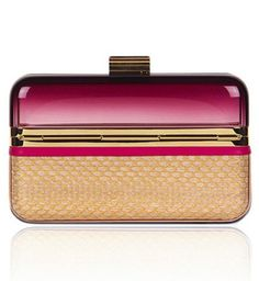 Salvatore Ferragamo Hollywood Collection Clutch