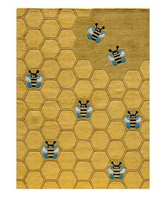 Take a look at this Honeycomb Rug by Momeni Rugs on #zulily today!