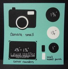 pinterest stampin up special fold cards | Camera punch art - bjl