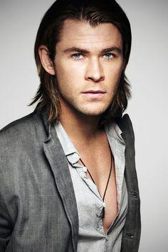 Chris Hemsworth as Christian Grey?