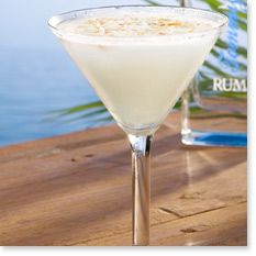 COCONUT CLOUD MARTINI  1 part Tommy Bahama White Sand® Rum 1½ parts vanilla vodka 1½ parts coconut rum ½ part Coco Lopez® Shake 20 times in a cocktail shaker and strain. Garnish with toasted coconut.