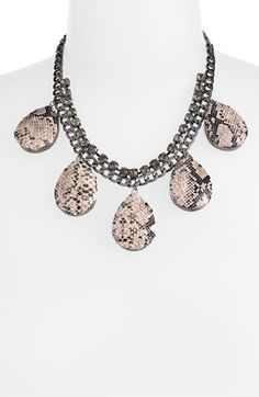 Spring Street Design Group Python Print Statement Necklace
