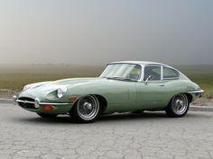 1968 Jaguar E-Type.