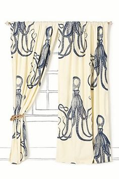 Long lost Octopus curtains