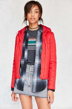 BDG Emma Quilted Liner Jacket - Urban Outfitters