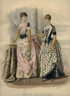 1884 Bustle Era Fashion