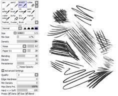 Organise Brushes Paint Tool Sai