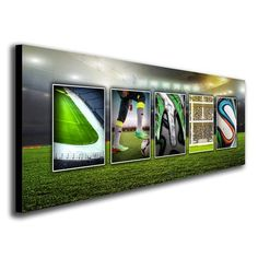 Soccer Name Art Personalized from $49.95