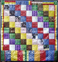ribbon quilt diagonal blocks